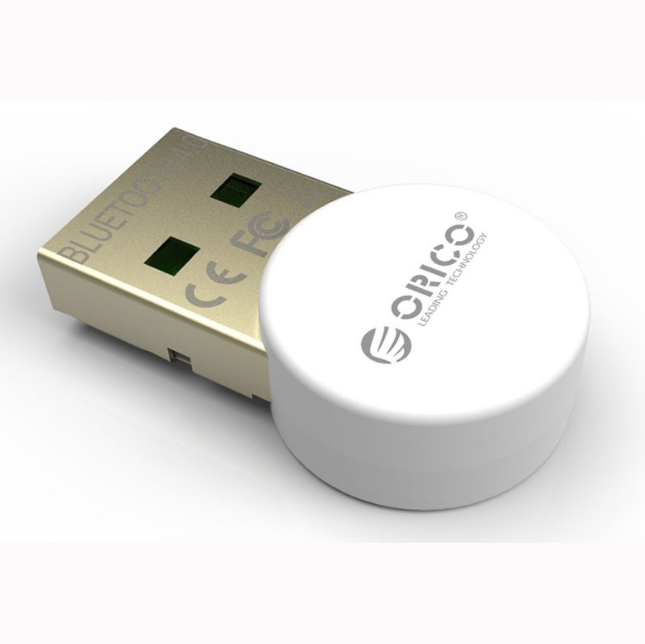 Mini Adaptador Usb Bluetooth 4.0 Orico Original BTA-406-WH