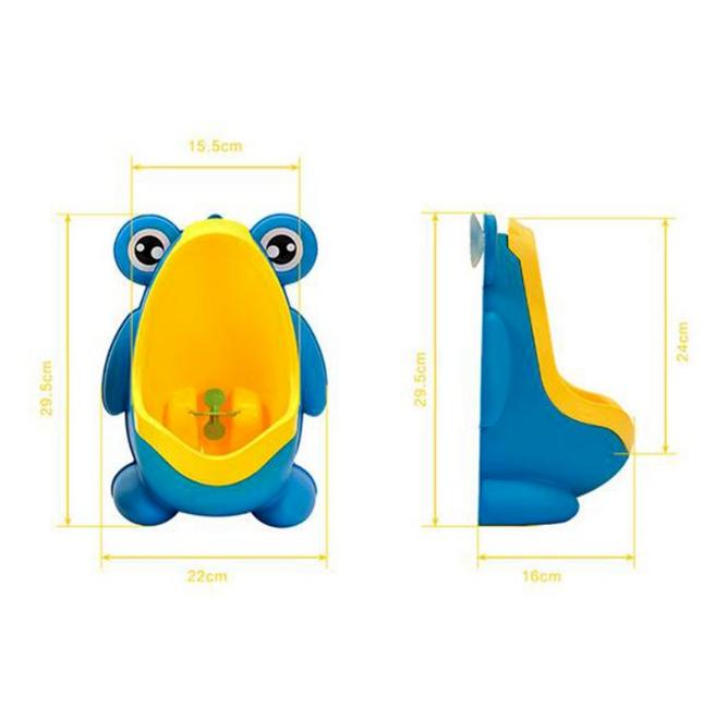 Pinico Mictorio Cor: Azul e Amarelo