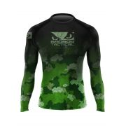RASHGUARD PICTUM GREEN