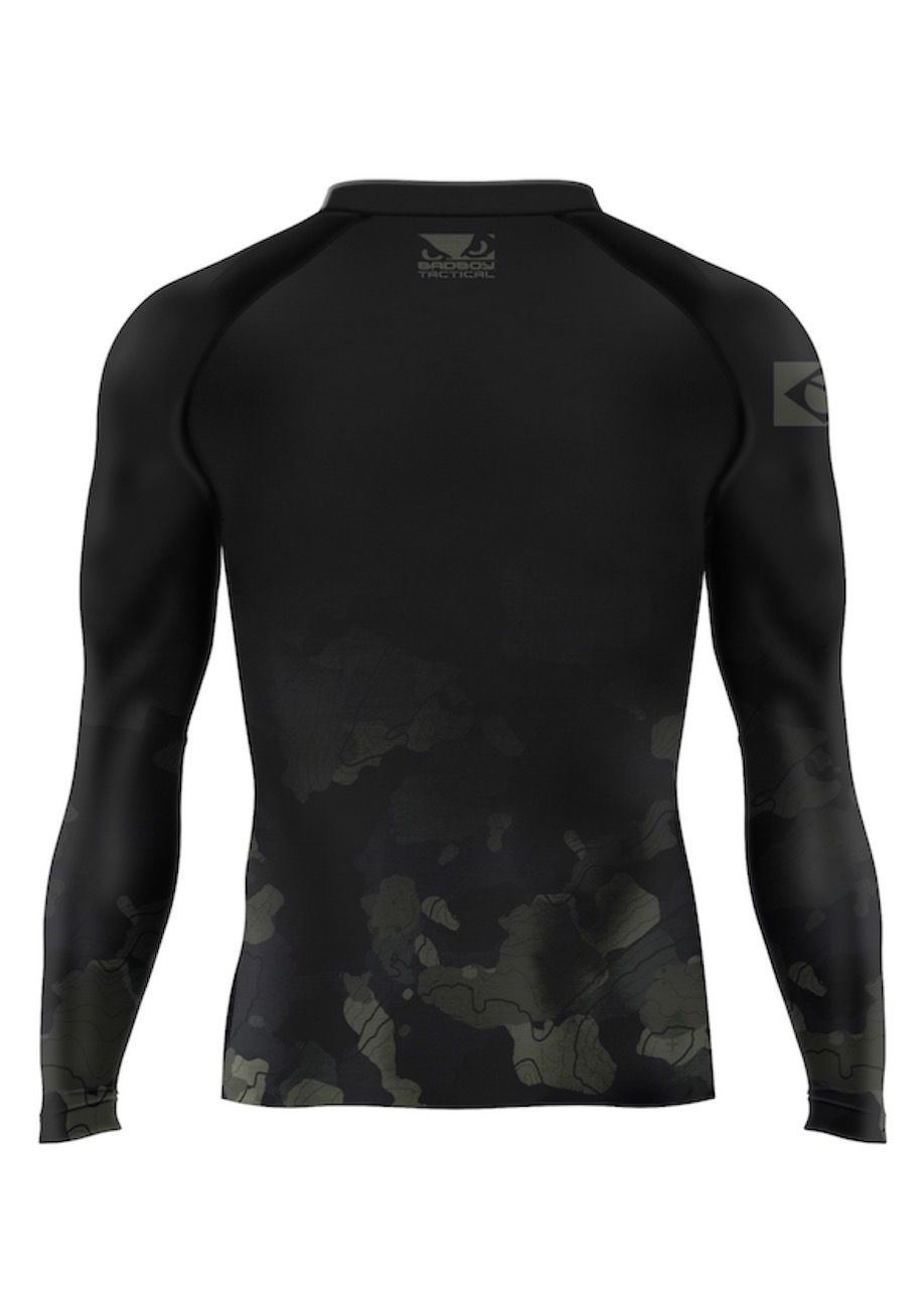 RASHGUARD PICTUM BLACK