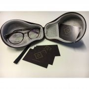 917798a9f Óculos Armação Grau Unissex Wiikglass Estilo 2018 Vermelho