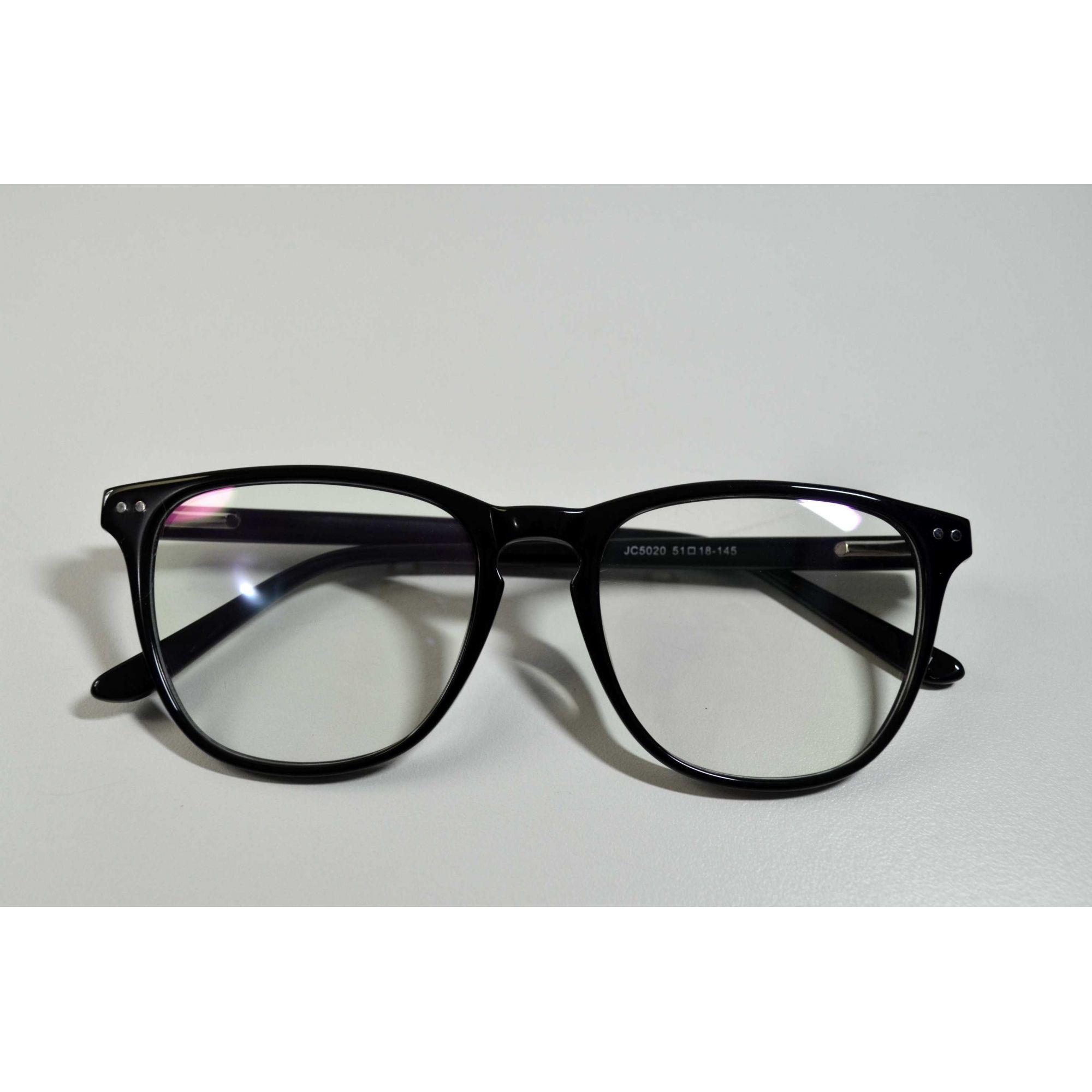 828425d2fb544 Armação Óculos Grau Feminino Estilo Selena Preto
