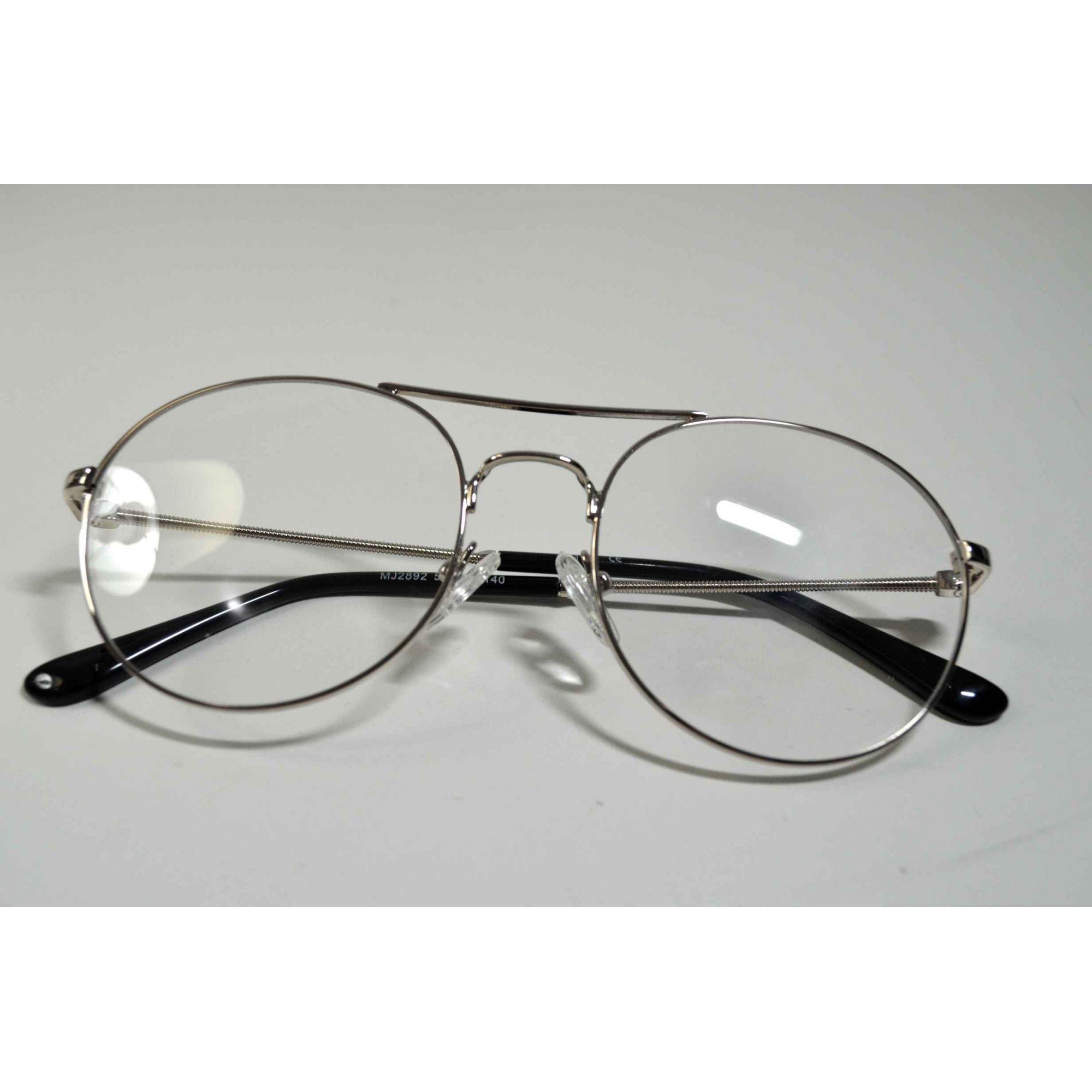 1cf4c91fd7414 ... Armação Óculos Grau Feminino Redondo Vintage Wiikglass 2018 ...