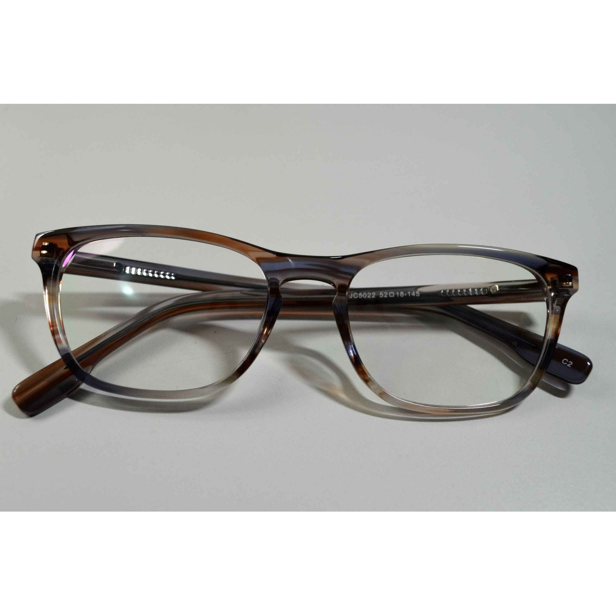 0d08d4033 Armação Óculos Grau Feminino Retangular Alta Qualidade Marrom