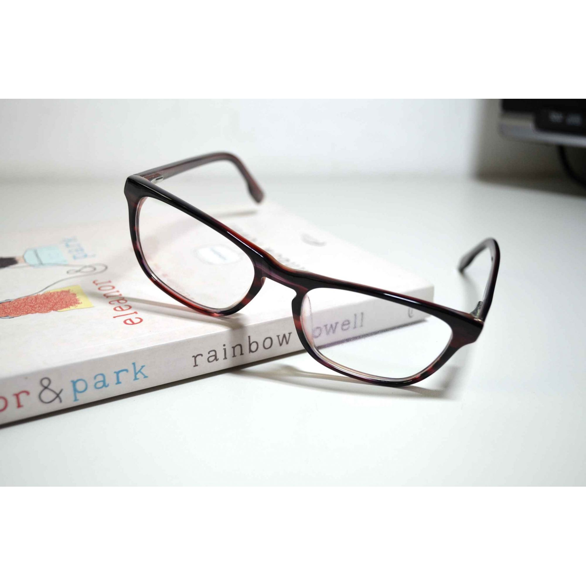 ba4e27d7d Armação Óculos Grau Feminino Retangular Qualidade Vermelho
