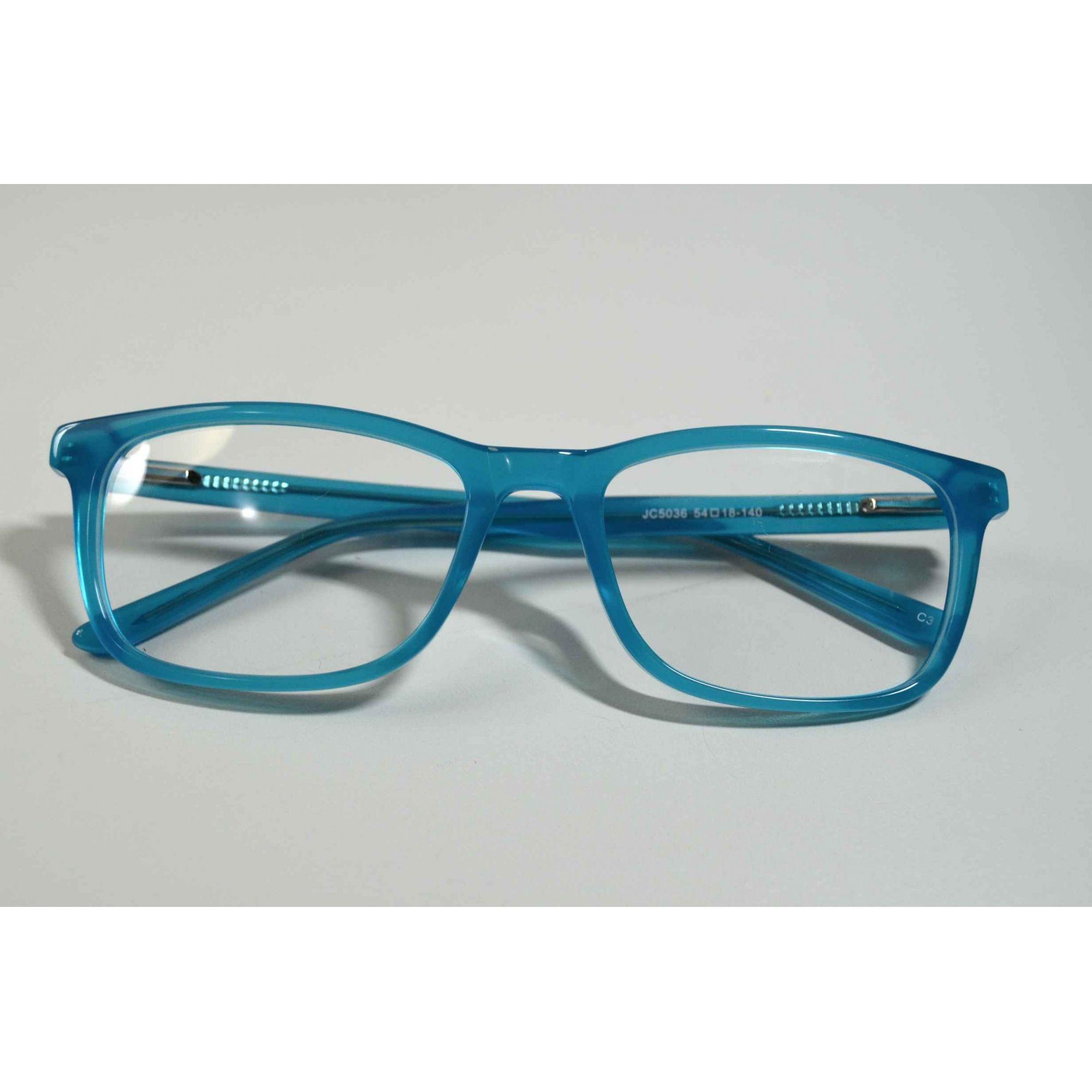 Armação Óculos grau unissex acetato fashion azul jpg 2000x2000 Azul oculos  de grau 51f0a1d88c