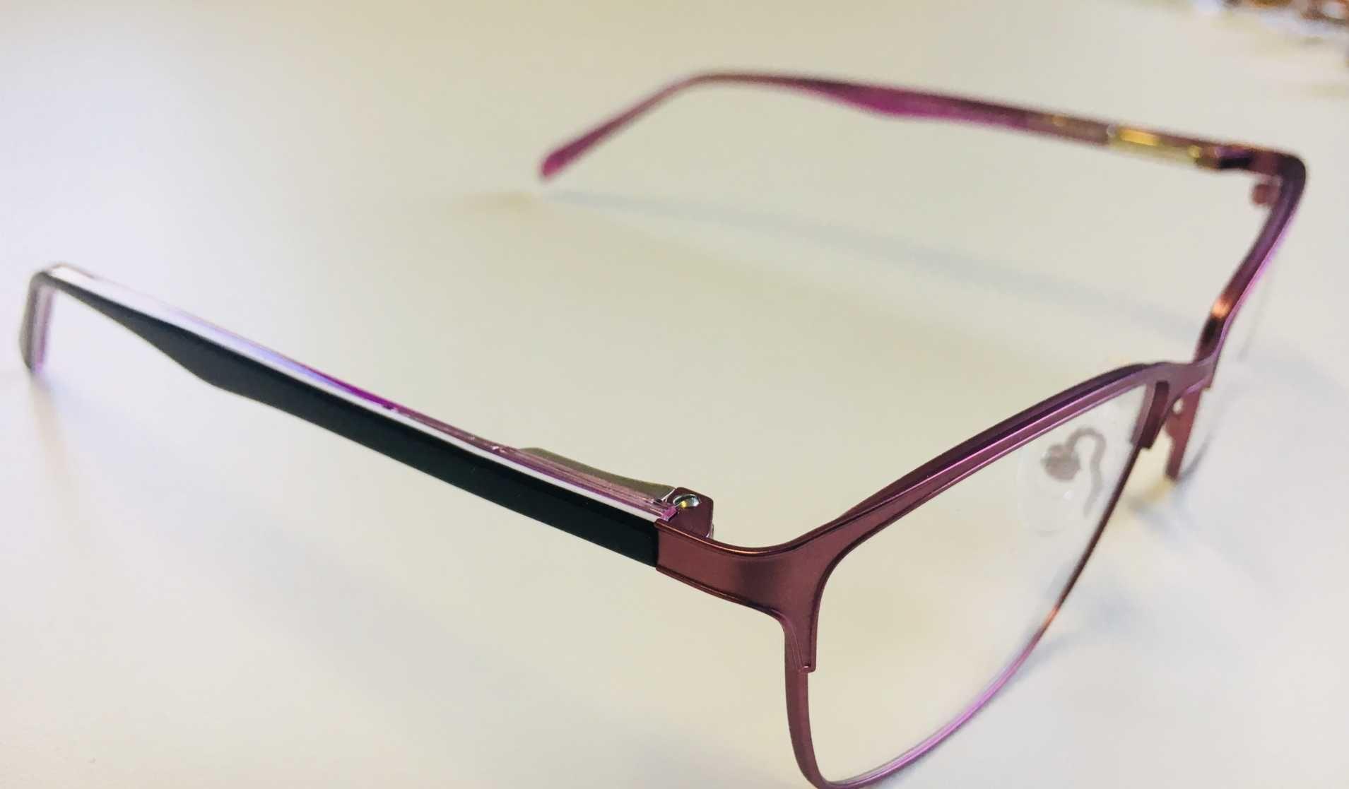6c04c1043dce7 ... Óculos Armação Grau Feminino Metal Moda 2018 Rosa ...
