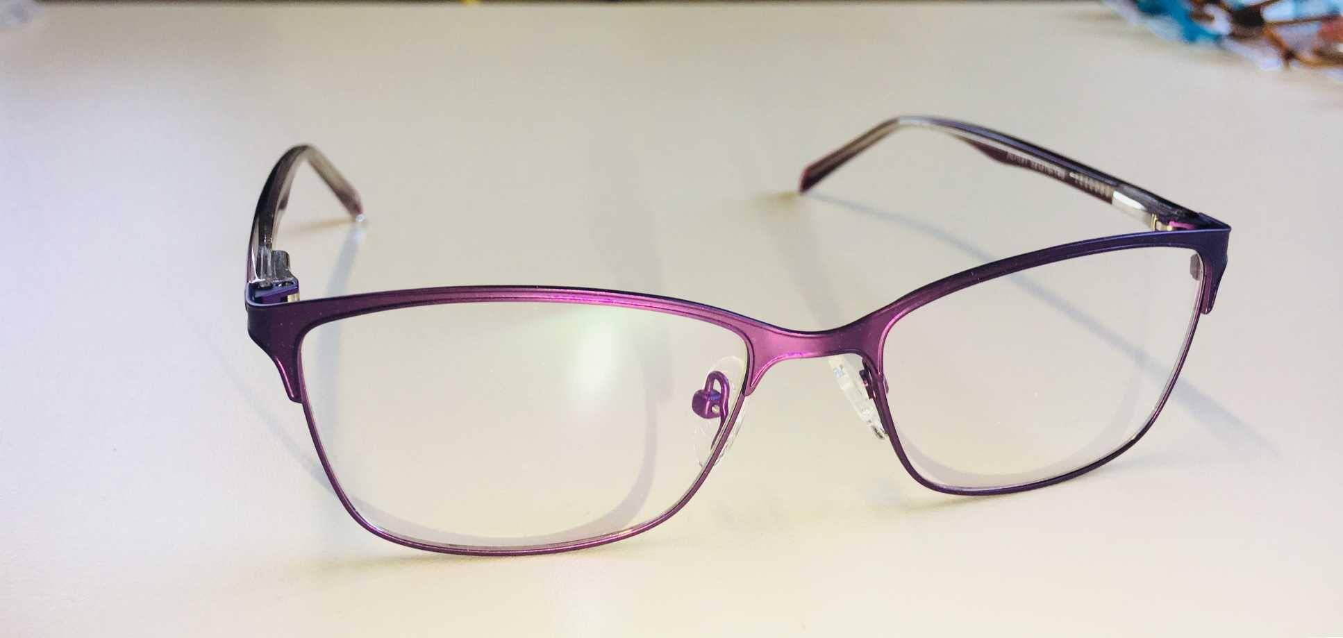 7ce1d9f46ac4e Óculos Armação Grau Feminino Metal Moda 2018 Violeta
