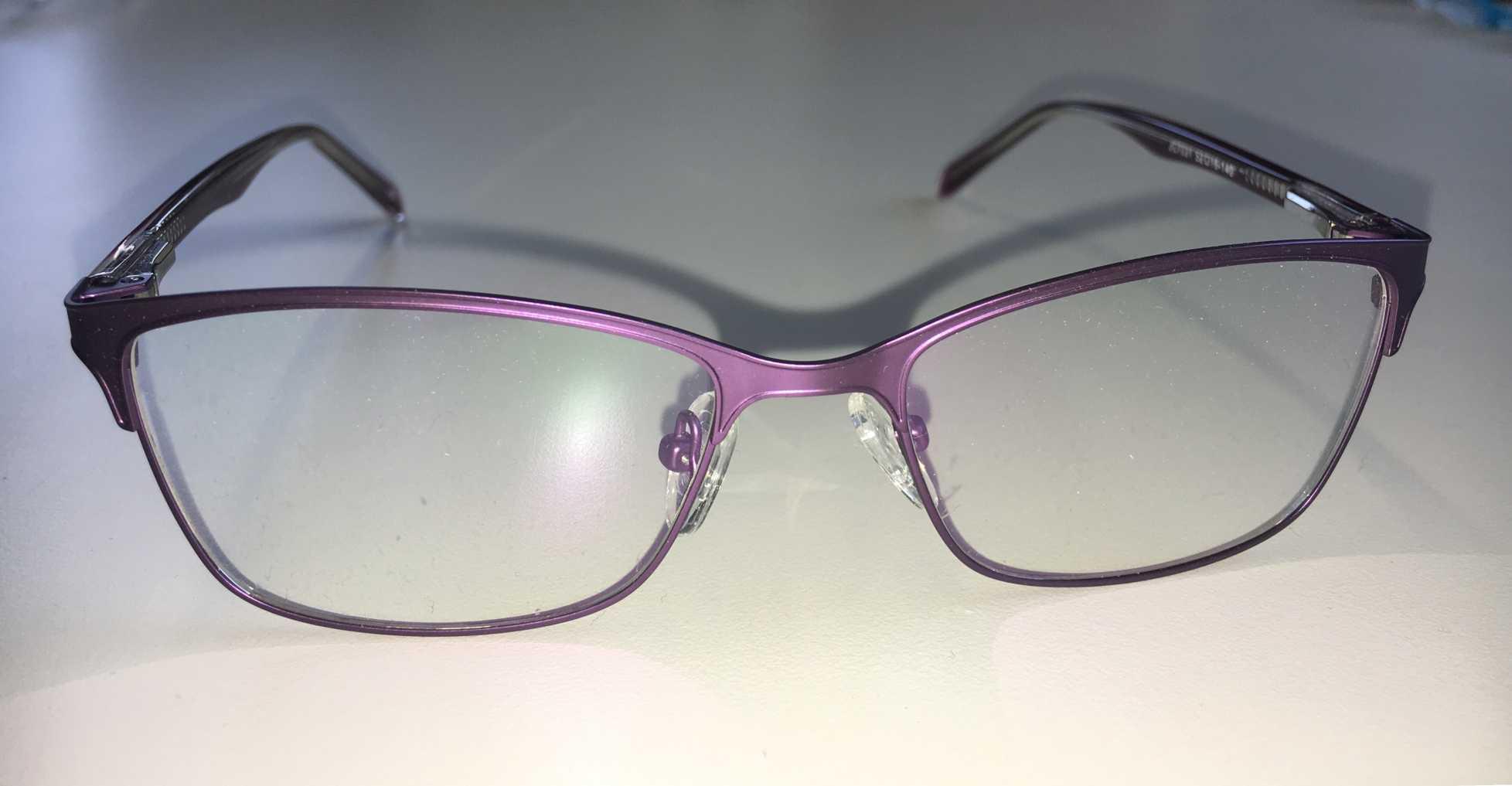 32bb97fd573d9 ... Óculos Armação Grau Feminino Metal Moda 2018 Violeta ...