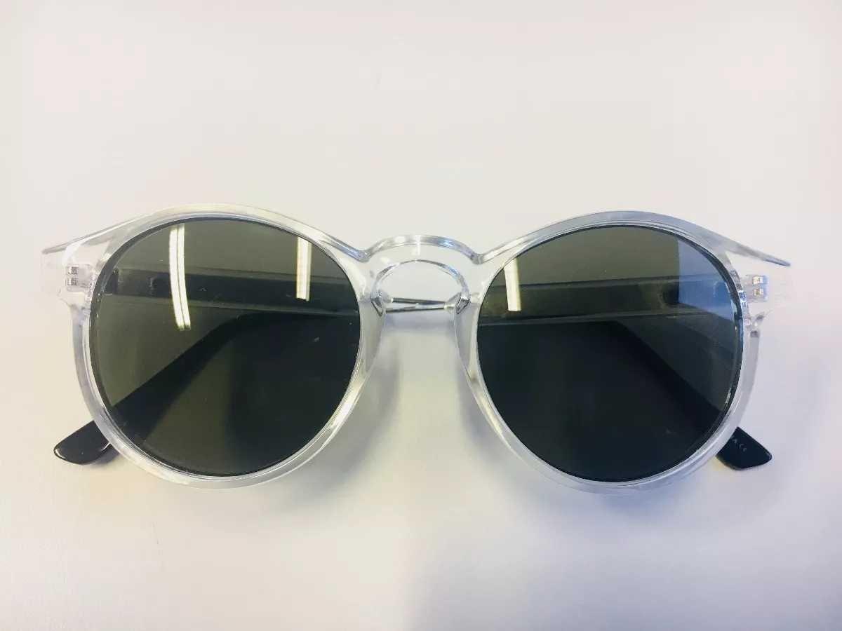 e3605859cdc92 Óculos De Sol Feminino Redondo Wiikglass 2018 Transparente