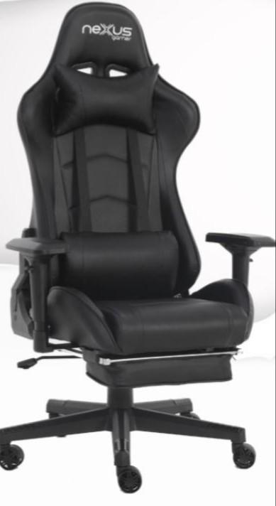 Cadeira Gamer Scorpion Nexus Preto com Preto