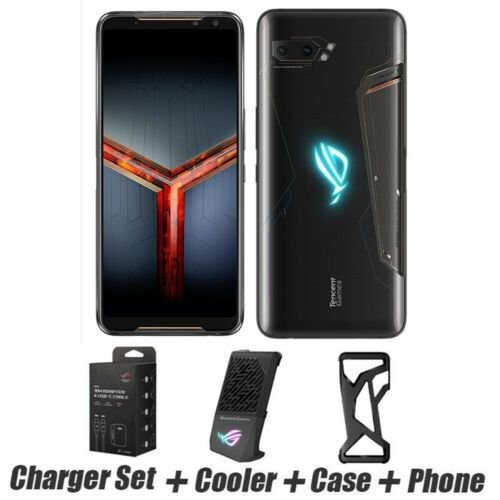 Asus Rog Phone 2 512GB 12GB ram + cooler + case + charger set