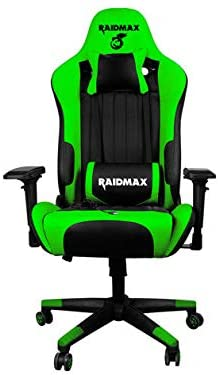 Cadeira Gamer C/Massageador Drakon DK-707GN Verde - Raidmax