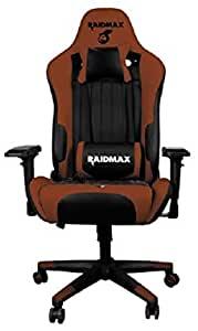 Cadeira Gamer Drakon 707 Raidmax marrom e preto