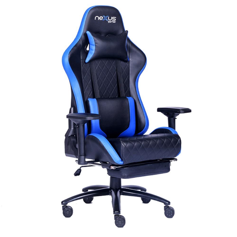 Cadeira Gamer Nexus Python D361 Azul