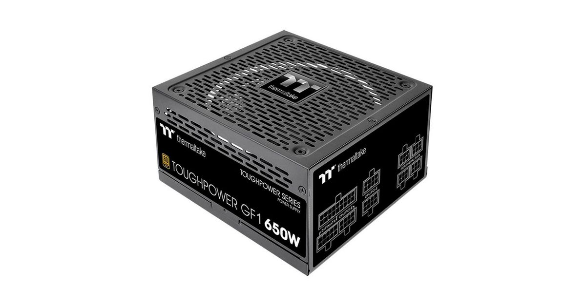 Fonte Atx 650w Toughpower Gf1 Full Modular 80 Plus Gold Tt