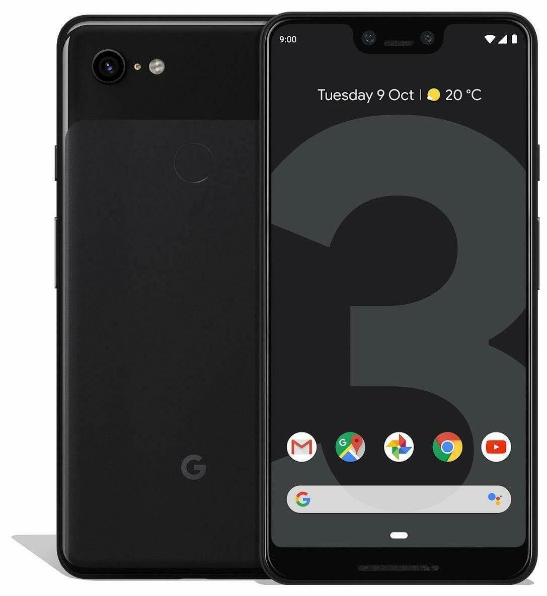Google Pixel 3 XL 128GB Desbloqueado Preto
