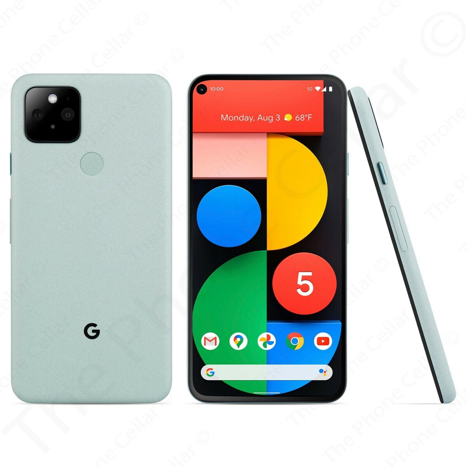 Google Pixel 5 128GB Sorta Sage Green