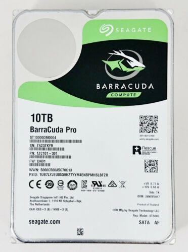 HD Seagate Barracuda Pro 10TB 7200Rpm 3.5