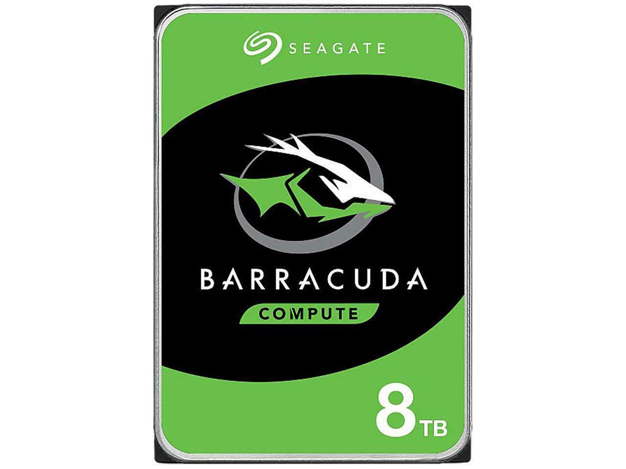 HD 8TB Seagate Barracuda 8TB 5200 rpm