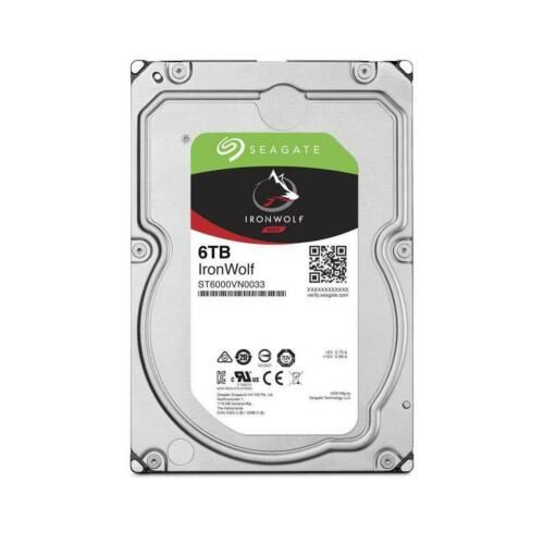 HD Seagate 6TB Ironwolf NAS