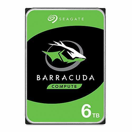 HD Seagate Barracuda 6TB 7200rpm
