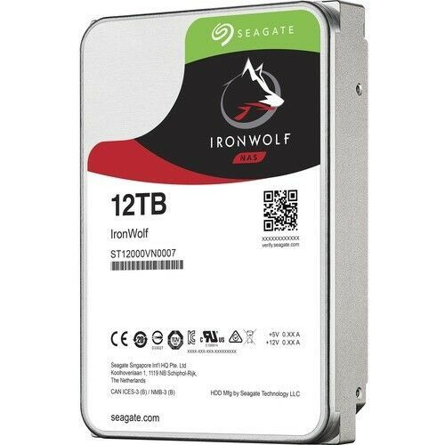 HD Seagate Ironwolf 12TB Sata NAS