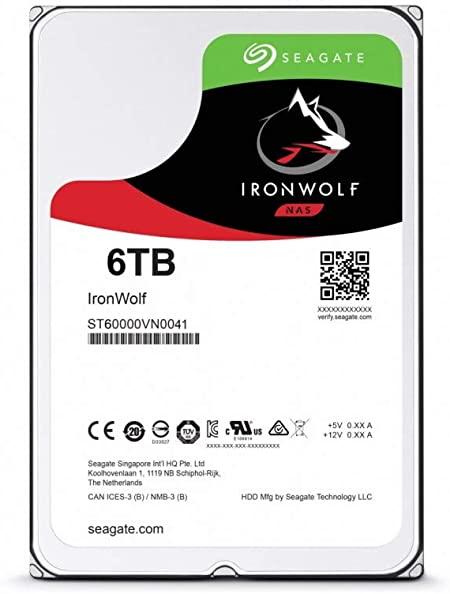 HD Seagate IronWolf 6TB NAS 7200rpm