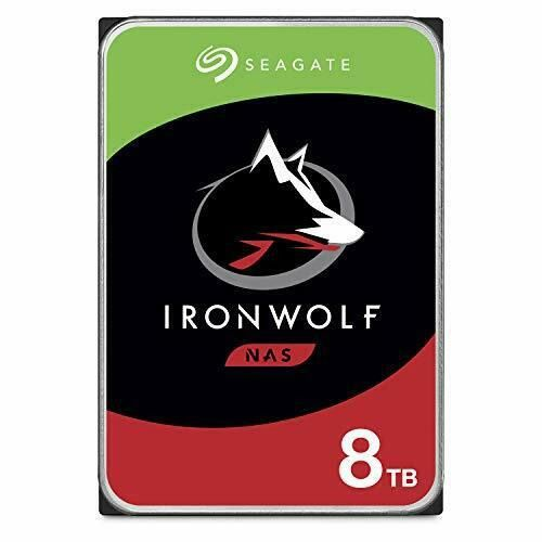 HD Seagate Ironwolf 8TB Sata 7200 RPM 256MB Cache