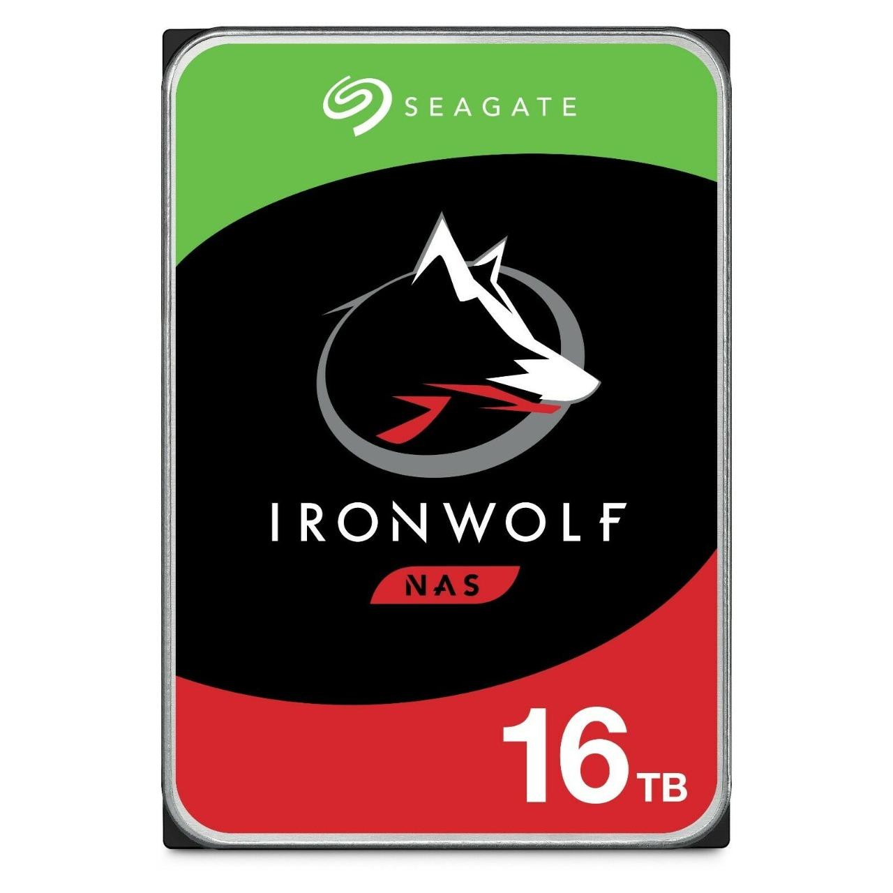 HD Seagate IronWolf NAS 16TB SATA 7200RPM