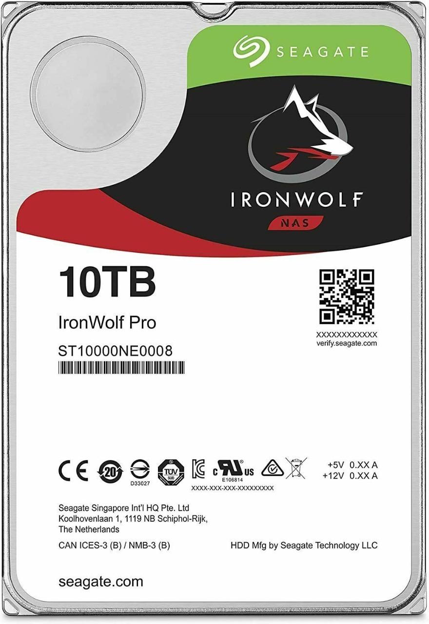 HD Seagate IronWolf Pro 10TB 3.5