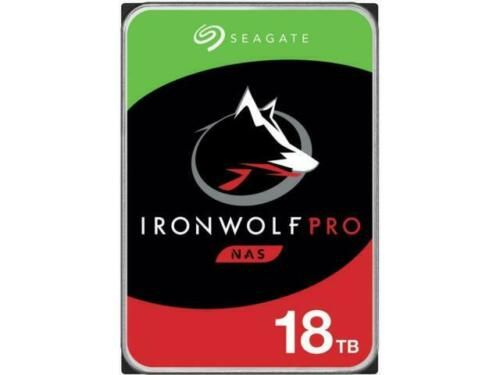 HD Seagate IronWolf Pro 18TB NAS Sata 7200 rpm