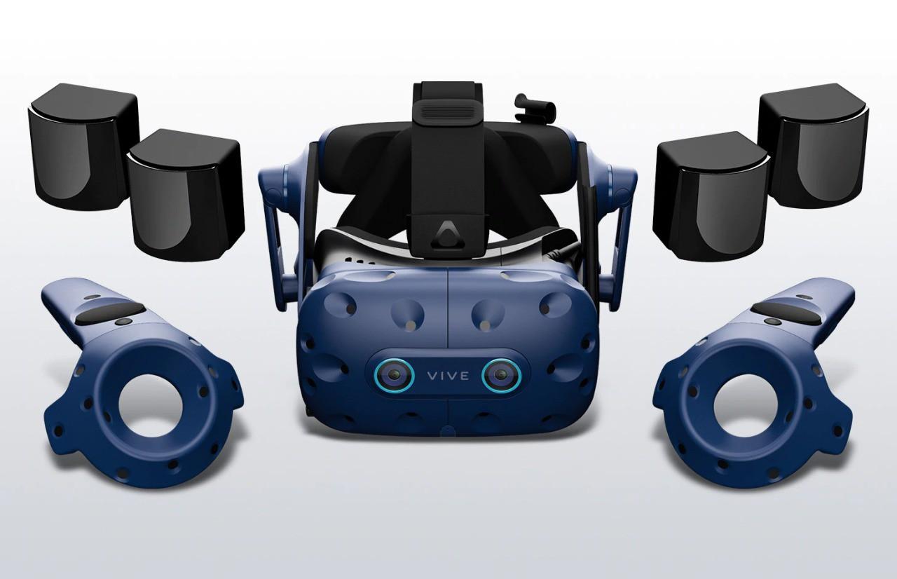 HTC Vive Pro Eye Arena Bundle - Oculos de realidade virtual