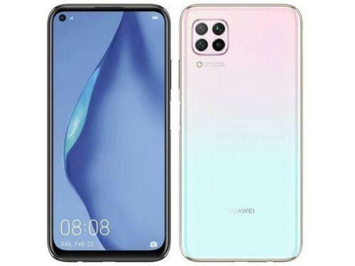 Huawei P40 Lite 128gb 6gb ram azul claro