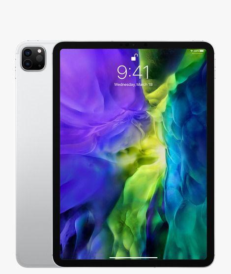 """Ipad Pro 11"""" 128GB 2nd Gen (2020) Wi-Fi Silver"""