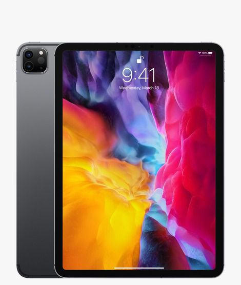 "Ipad Pro 11"" 128GB 2nd Gen (2020) Wi-Fi Space Gray"