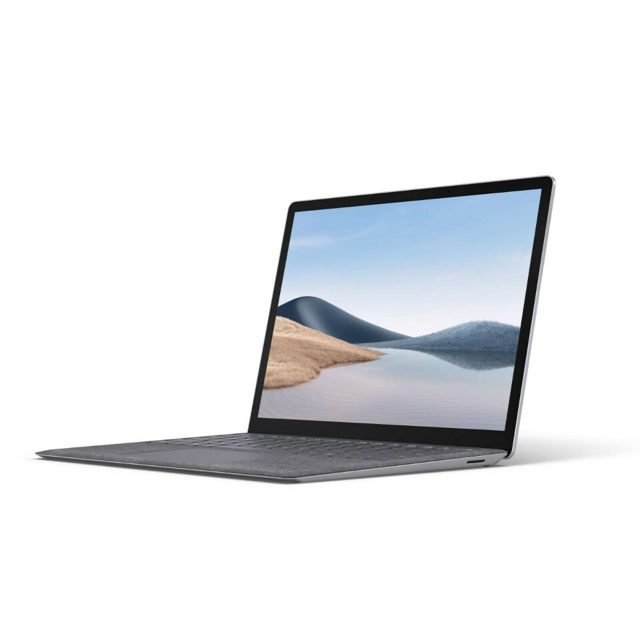 Microsoft Surface laptop 4 13.5 core i5 16gb 512gb Platium