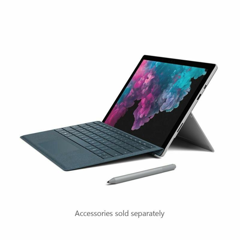 Microsoft Surface Pro 6 Core i5 256gb 8gb ram Prata