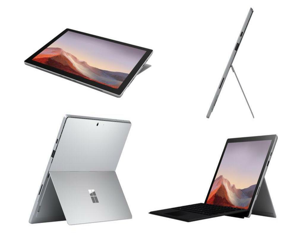 Microsoft Surface Pro 7 Core i3 4gb ram 128gb ssd Prata