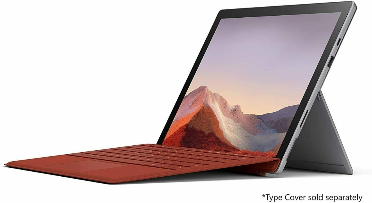 Microsoft Surface Pro 7 Core i7 16GB 1tb - Prata