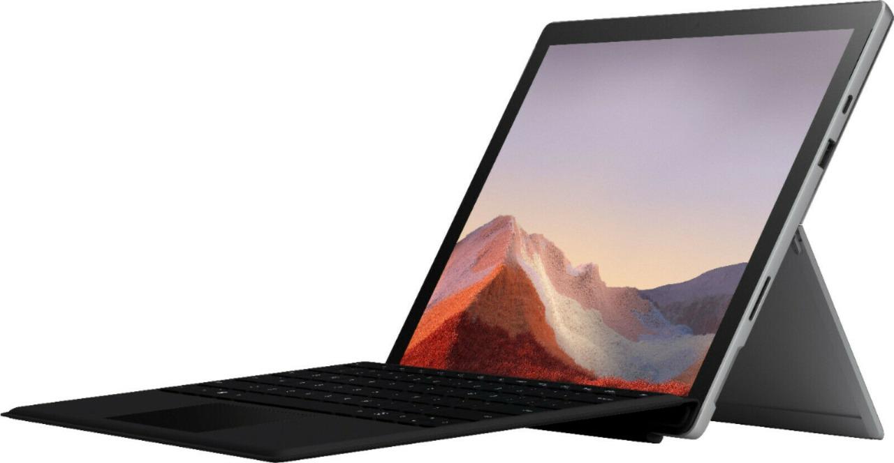 Microsoft Surface Pro 7 i5 8GB 128GB Prata