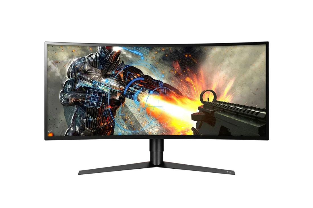 Monitor LG 34GK950F-B 34 Inch UltraGear™️ QHD Curved IPS Gaming Monitor