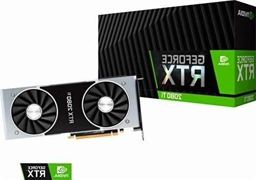 Placa de video RTX 2080 Ti Founders Edition Nvidia