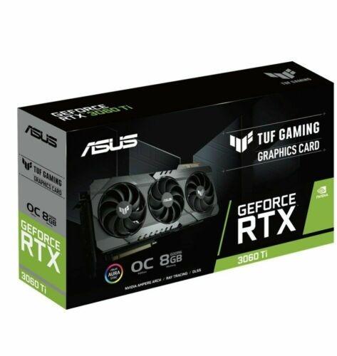 Placa de Vídeo RTX 3060 TI 8GB OC Asus Tuf Gaming