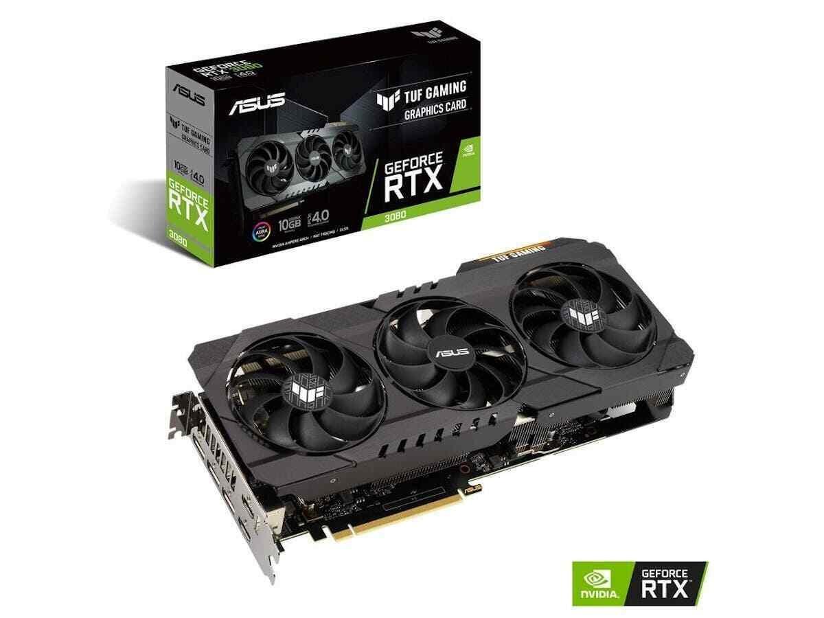 Placa de Vídeo RTX 3080 Asus Tuf Gaming
