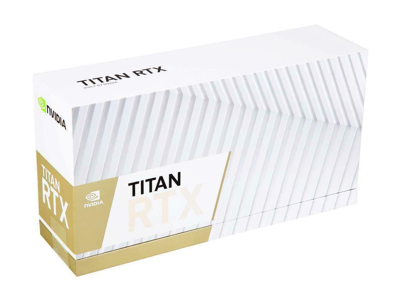 Placa de Video RTX Titan Nvidia 24GB 384-Bit GDDR6