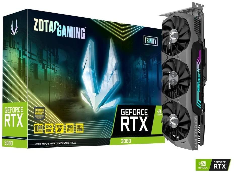 Placa de Vídeo ZOTAC GAMING GeForce RTX 3080 Trinity