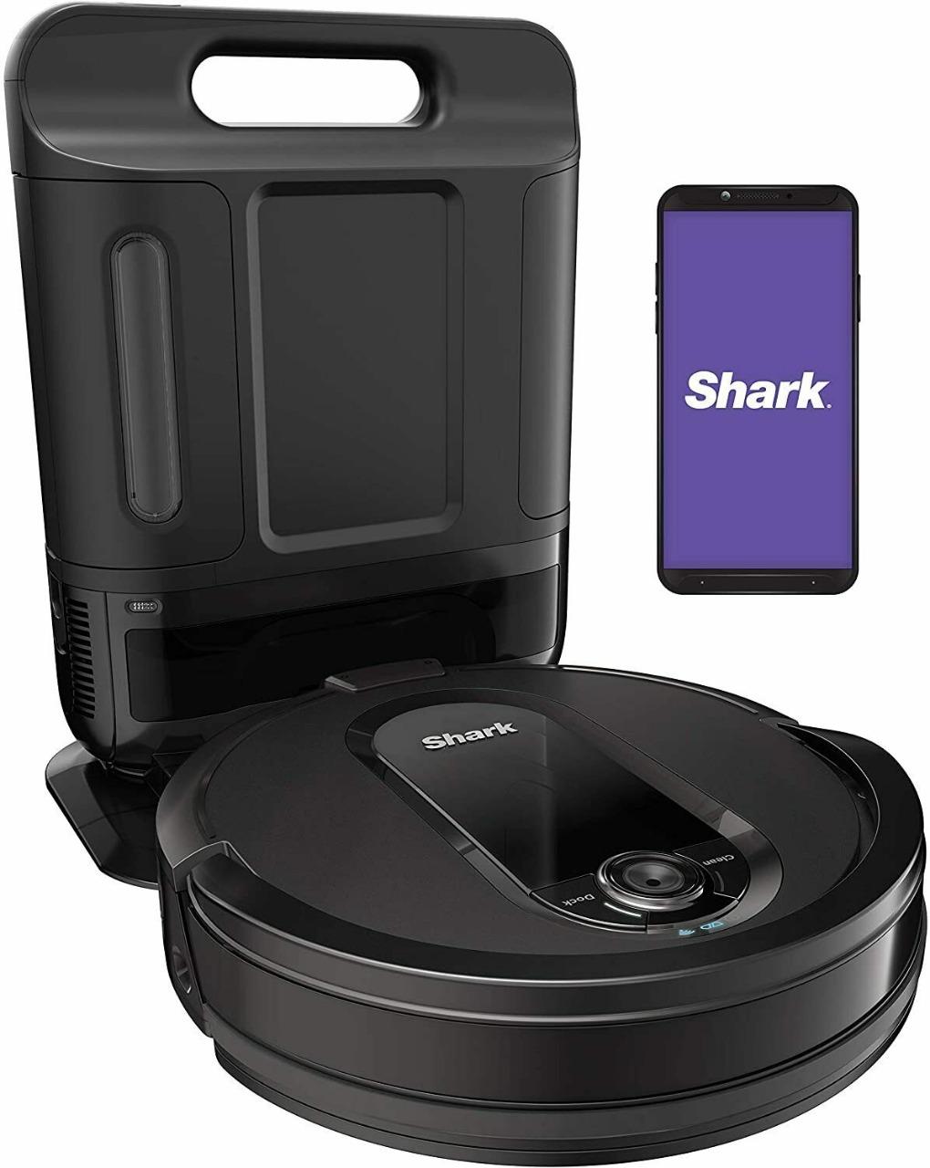 Robô aspirador Shark iQ vacuum com base