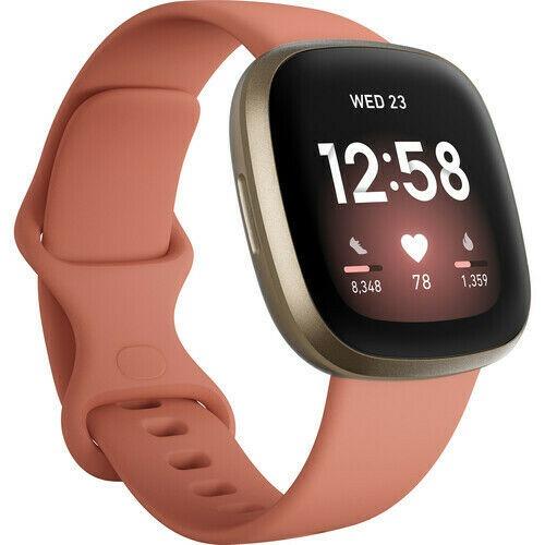 Smartwatch Fitbit Versa 3 Pink Clay