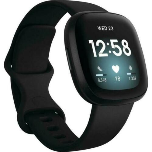 Smartwatch Fitbit Versa 3 Preto